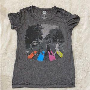 Lightweight Beatles T-shirt small gray